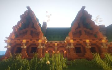 Pack of three houses by Chrostus Minecraft Map & Project