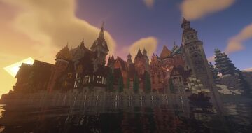 Fyrmana (Fictional City) Minecraft Map & Project
