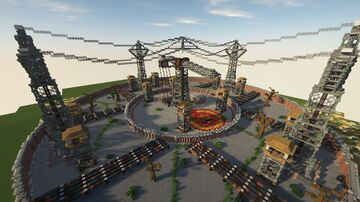 Welcome to the Dreamland 0.0.2 project Minecraft Map & Project