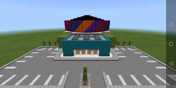 Arson Center - Minecraft Wrestling Arena Minecraft Map & Project