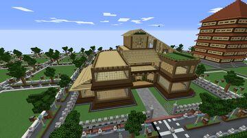 Casa madera 32x32 Minecraft Map & Project