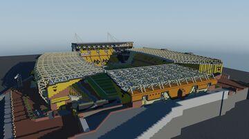 Wolves Stadium (Premier League Stadium) Minecraft Map & Project