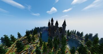 Spawn - Little castle Minecraft Map & Project
