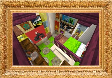 1.16 Update Original Interior Update | New Blocks + Concept | Unique and Styled in a Vintage Fashion | MrSpy321 Minecraft Map & Project