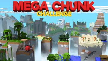 Mega Chunk Challenge - Java 1.15 Minecraft Map & Project