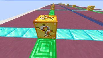 luckblock race 2.0 Minecraft Map & Project