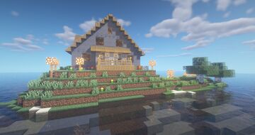 OldSchool House Minecraft Map & Project