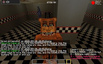 Fnaf 2 modded Minecraft Map & Project