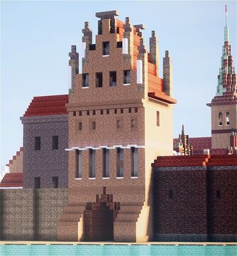 Burgtor, Anklam, Germany Minecraft Map & Project