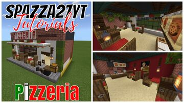 Small Shops Pizzaria Minecraft Map & Project