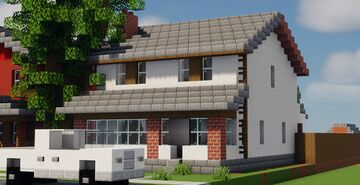 American Mid-West House #6 [Schematic] Minecraft Map & Project