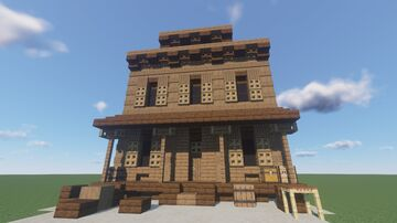 Western house Minecraft Map & Project