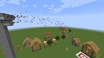 Real Working MACHINE GUN! Minecraft Map & Project
