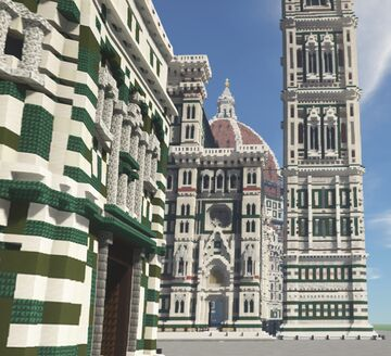 FIRENZE SU MINECRAFT - ⚜️Florence-Project⚜️ Minecraft Map & Project