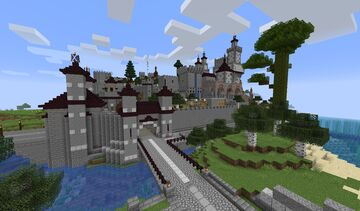Phase 3 - The Castle (a Turtle Bay worldmap project in 1.15.1) - Download Available Now! Minecraft Map & Project
