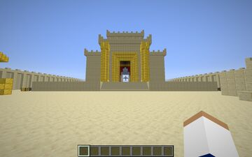 King Solomon's Temple Minecraft Map & Project