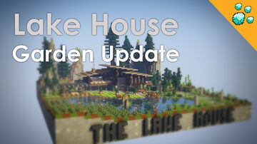 Lake House Minecraft Map & Project