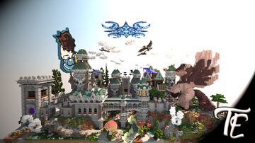 Fantasy spawn for server nothard.pl | Team Elementary Minecraft Map & Project