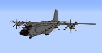 C-130J Super Hercules (1.5:1) Minecraft Map & Project