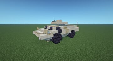 M1117 Armored Security Vehicle Minecraft Map & Project