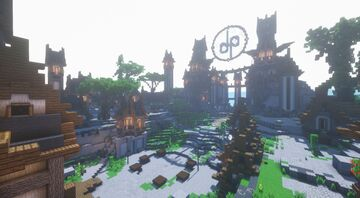 Skyblock Spawn -- Medieval Minecraft Map & Project