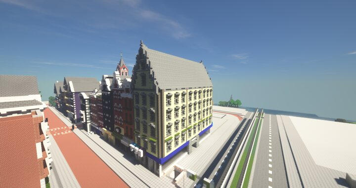 Popular Server Map : 21 Marinwich Street - Alhutopia - Northern Europe architecture