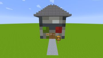 The Head-House of Cyprezz Minecraft Map & Project