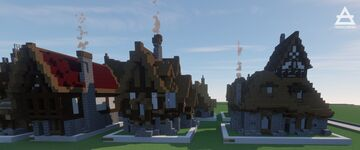 Medieval House Pack Minecraft Map & Project