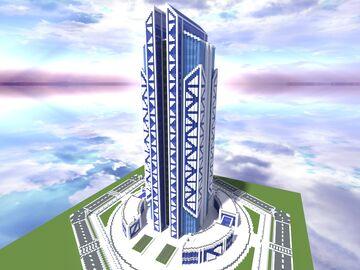 Quartz Tower #20 Minecraft Map & Project
