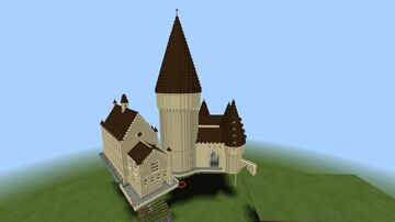 Hogwarts Castle based off the first and second films. Minecraft Map & Project