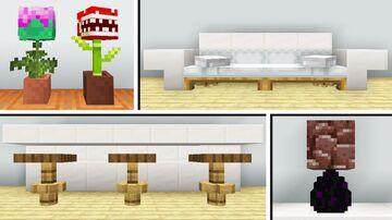 10 Interior building Designs Minecraft Map & Project