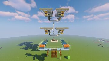 Stackable Iron Farm Minecraft Map & Project