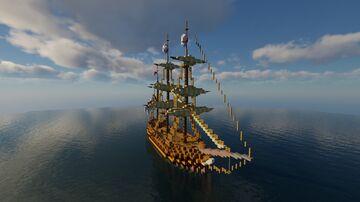 [SR's Boats]Light Frigate Minecraft Map & Project