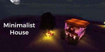 Minimalist House Minecraft Map & Project
