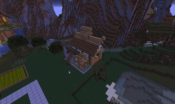 Age of Empires II - Far East Mill Minecraft Map & Project