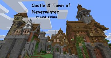Castle & Town of Neverwinter 1.15.2. Minecraft Map & Project
