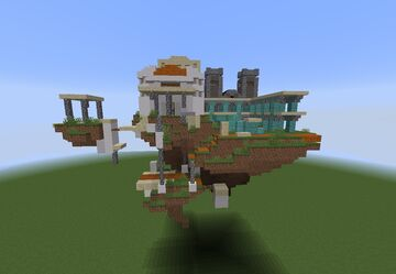 Smash Bros Temple Stage Minecraft Map & Project