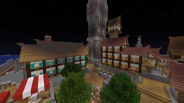 Overward City (Unfinished) Minecraft Map & Project