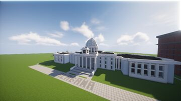 Alabama State Capitol Building Minecraft Map & Project