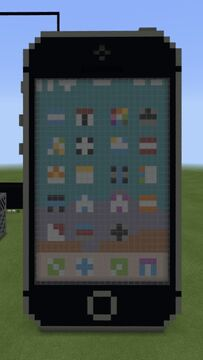 Space Gray iPhone SE Minecraft Map & Project