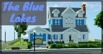 The Blue Lakes - Interior Contest garbegeme Submission Minecraft Map & Project