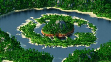Island Pirate Map 2 - 10000х10000 [WorldPainter] Minecraft Map & Project