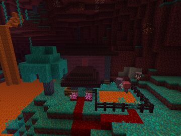 Nether House(Entry) Minecraft Map & Project
