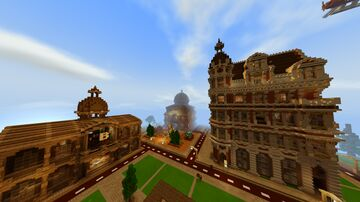 MineTopia - Real Life City Minecraft Map & Project
