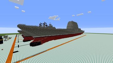 Yorktown class (CG-X) Minecraft Map & Project