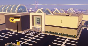 Shopping Center (Mall) Minecraft Map & Project