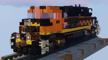 1.5:1 BNSF H4 EMD GP60M-3 Minecraft Map & Project