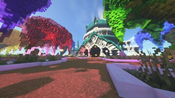 Elvish Castle Minecraft Map & Project