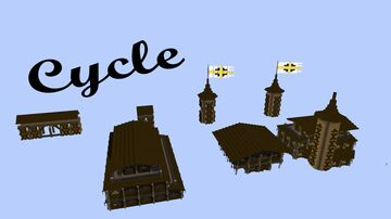 Cycle Schemetics Minecraft Map & Project