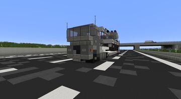 European Truck & Crane Truck Minecraft Map & Project